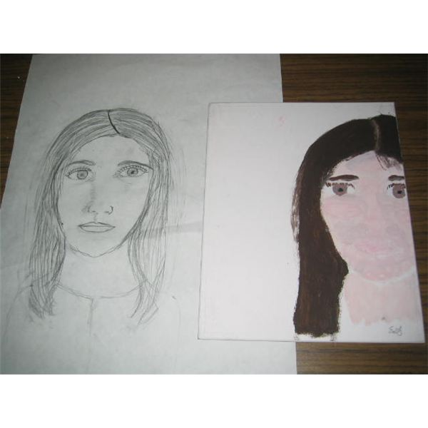 Drawing and portrait