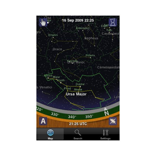 planisphere for the iPhone