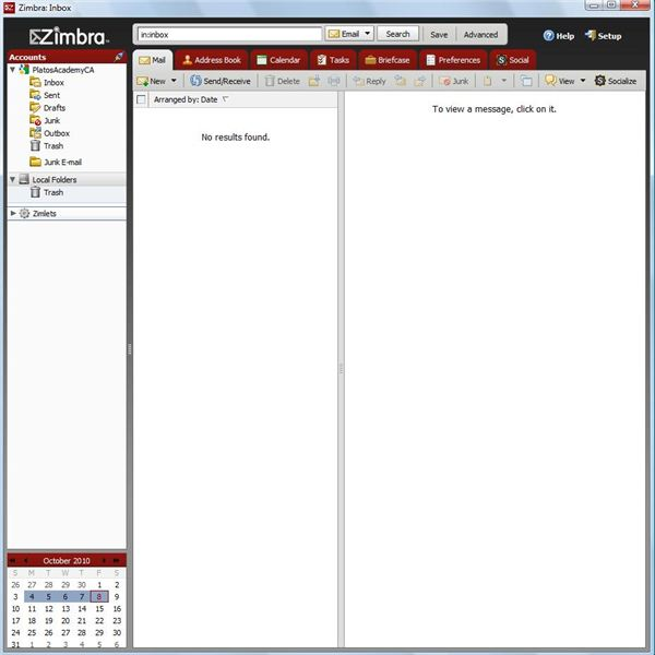 Zimbra Desktop Review: A Close Look at an Open Source Email Client