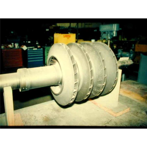 Centrifugal Air Compressor Impeller