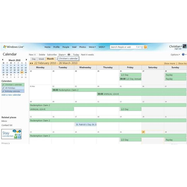What to do if you cannot send mail after removing Google Calendar