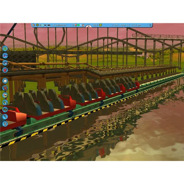 RCT3 Custom Tracks from Scratch