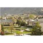 "• ""Brigham Young private University"" by Jaren Wilkey/Wikimedia Commons"