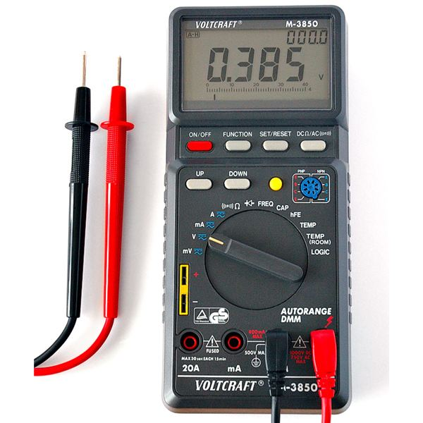How to Select a Multimeter for Robot Building