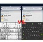 Swiftkey Original vs. Swiftkey X Beta