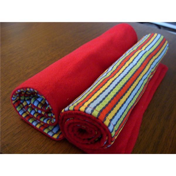 diy burp cloth