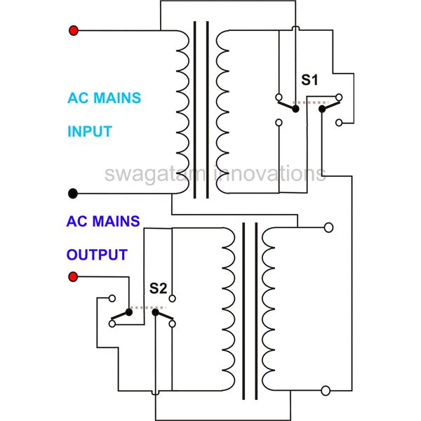 How to Build a Homemade Variable Voltage Autotransformer Variac Switch Wiring Diagram on