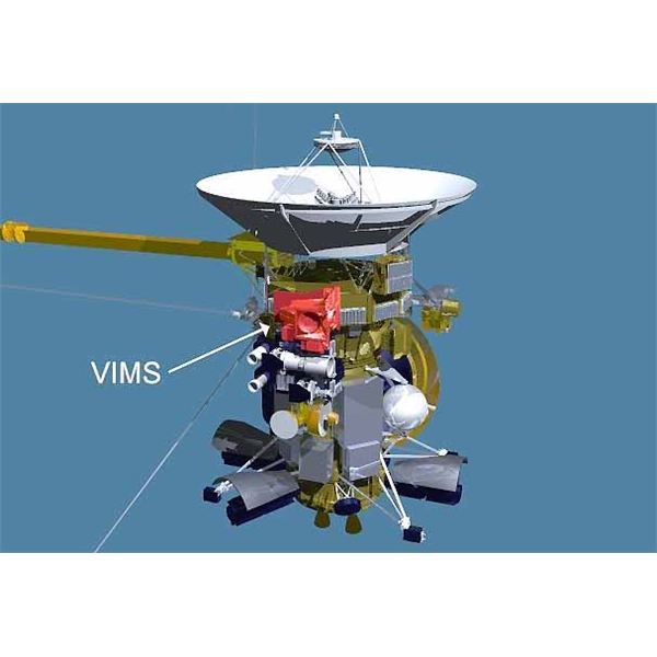 JPL Visual and Imaging Mapping Spectrometer on Cassini