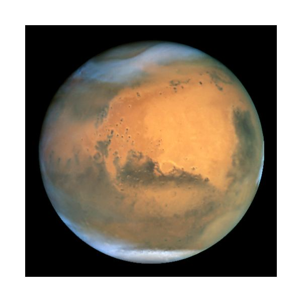 Why is Mars Red in Color?