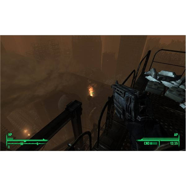Fallout 3: The Pitt - A Pretty View from the Top of the Pitt Blast Furnace