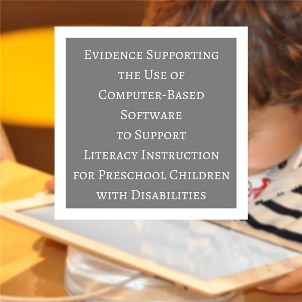 The Role of Early Childhood Technical Assistance for Children with Disabilities