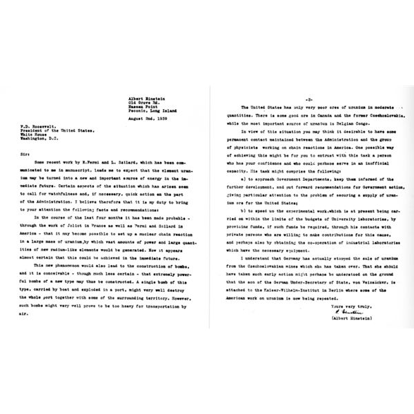 Essay On The Yellow Wallpaper Einstein Letter To President Roosevelt Business Argumentative Essay Topics also Essays About Business Interesting Facts On Albert Einsteins Life Achievements And  Narrative Essay Topics For High School