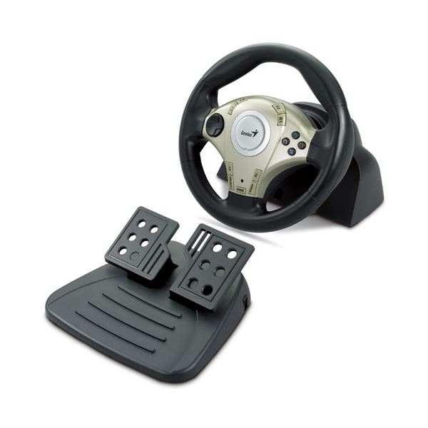 Genius TwinWheel F1 Racing Wheel