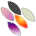 Leaf Graphics in Adobe Illustrator CS3 - apply textures to leaf graphics - artistic effects