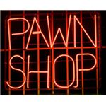 neon pawn shop sign