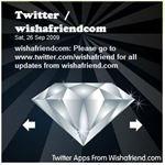 Wish a Friend... Flash Twitter Widgets