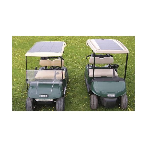 Golf Carts with Solar Panels