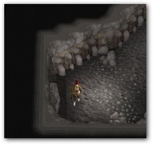 Portal Close to Stone Door