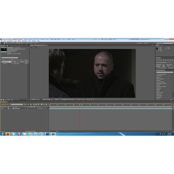 After Effects Interface