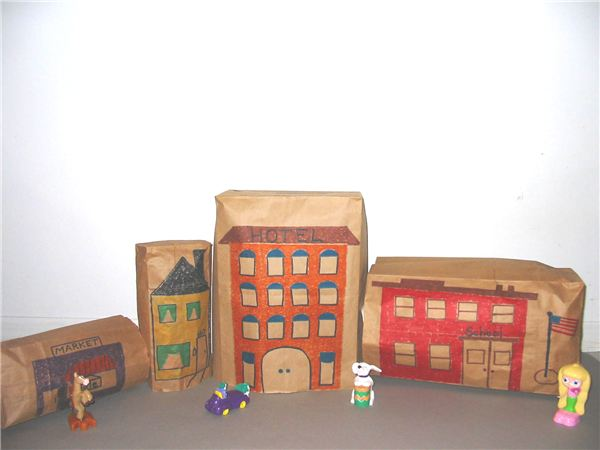 Design a Paper Bag City