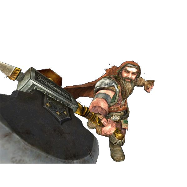 Gimli Elf friend stock photo LOTRO