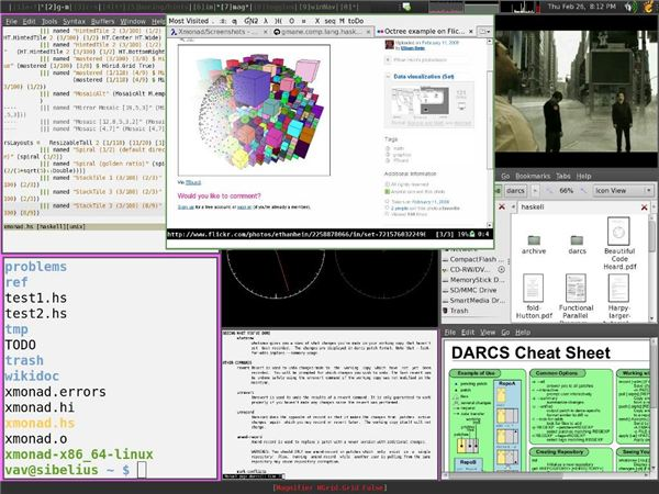 A Gallery of the Many Looks of Linux