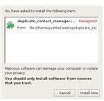 Screenshot-Software Installation
