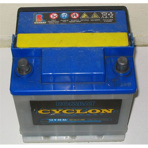 Typical Car Battery