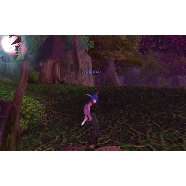 A Female Night Elf Gets Down