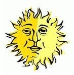 sun-face