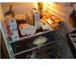 Shelves in the household refrigerator