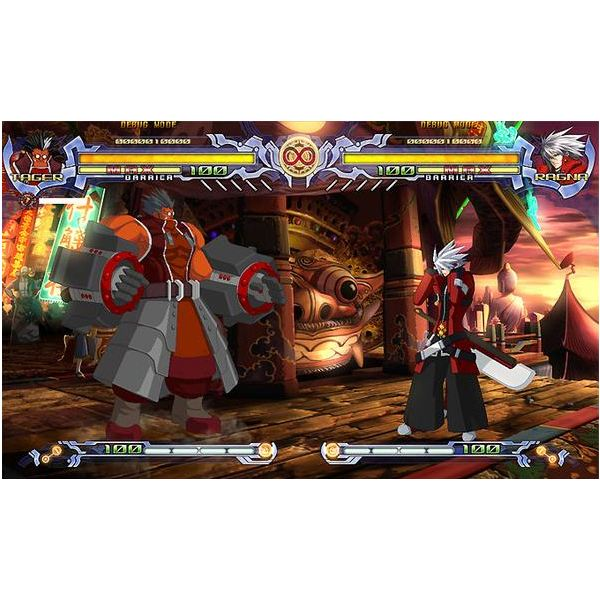 BlazBlue: Calamity Trigger has amazing color