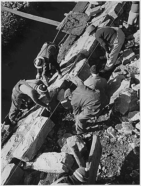 WPA Supplicants at Work on a Road