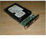 8. Plugging the SATA hard drive into the NexStar III.