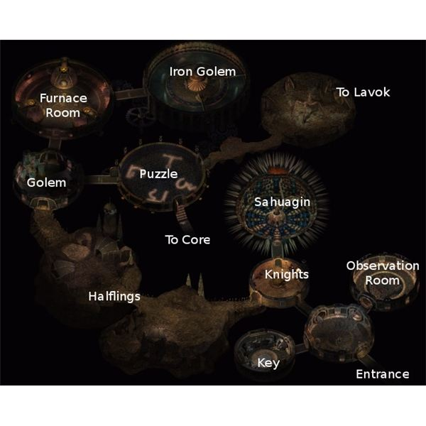 The Planar Sphere in Baldur's Gate II