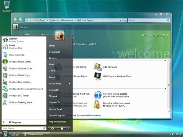 Windows Vista (v6)