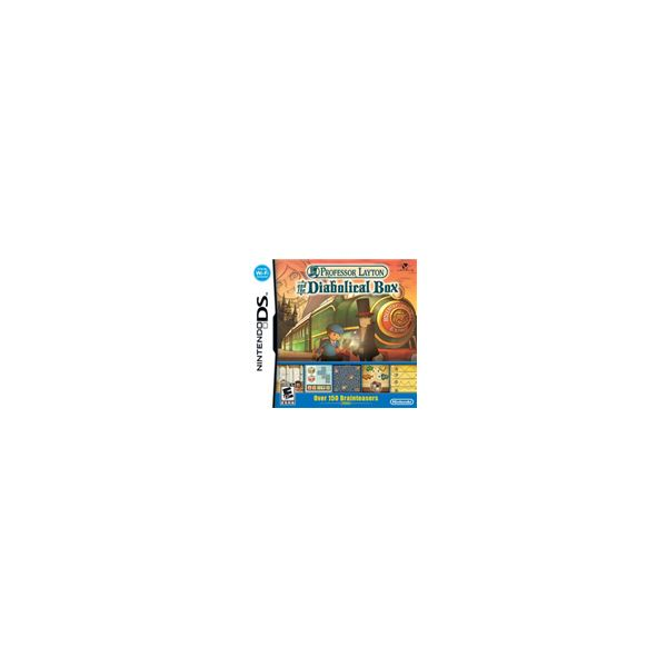 Nintendo DS Game Reviews: Professor Layton and the Diabolical Box Review, A Great New Puzzle Game for the DS