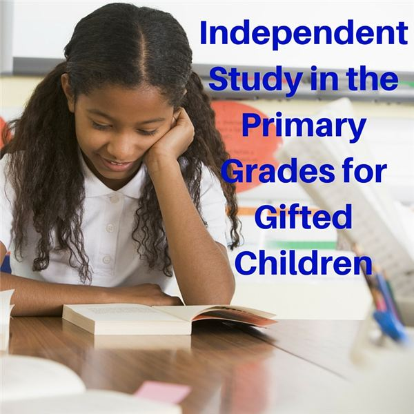 Incorporate Independent Study To Challenge Gifted Learners