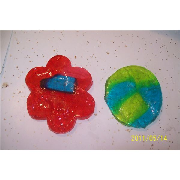 Edible Stained Glass Spring Craft 004