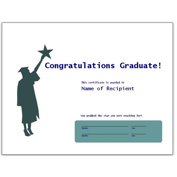 words of congrats for graduation