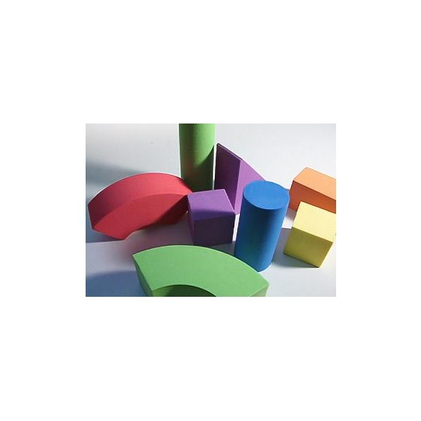 Geometric solid figures are useful mathematics manipulatives.