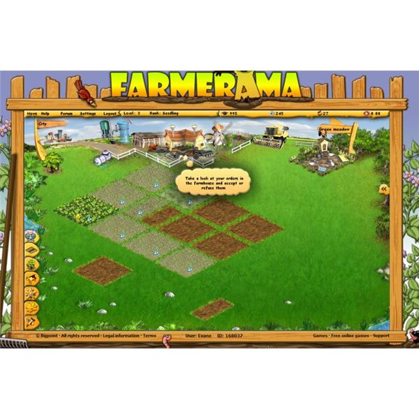 Review: Farmerama Browser Game - Coming Farming with Farmerama