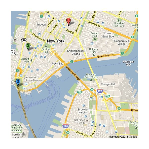 Google Map Of New York City.Google Maps Api An Overview Of The Features