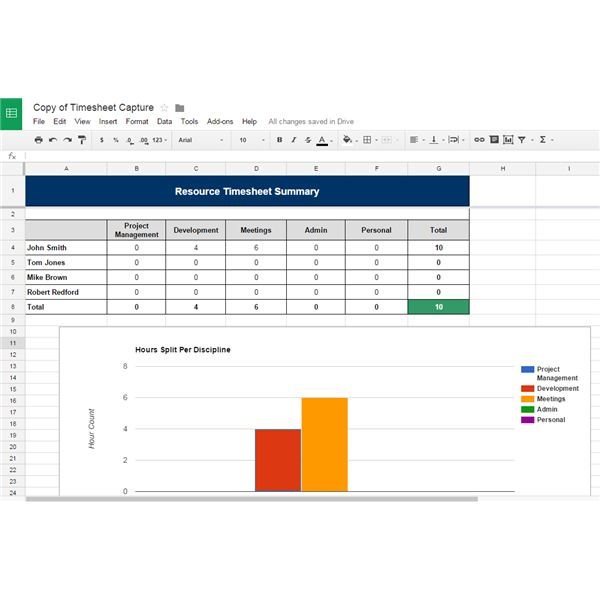 google sheets templates project - Selo.l-ink.co