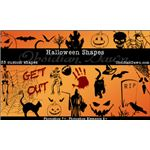 Halloween Custom Shapes by redheadstock