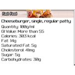 GI and Calorie Counter BlackBerry App