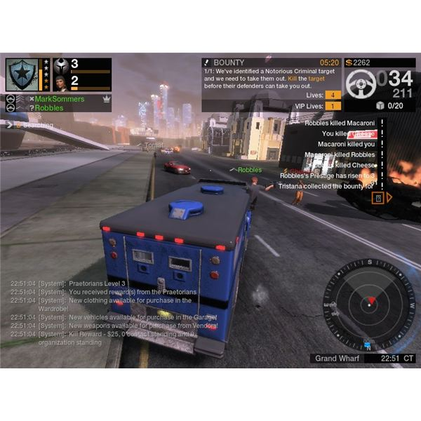 Armored trucks are one of the most reliable vehicles in APB