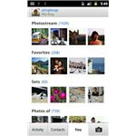 Flickr for Android - runs on 2.1 devices and later