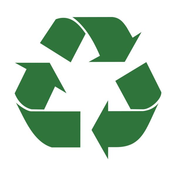 International Recycling Symbol - Image Credit: Wikimedia Commons/Krdan/Public Domain