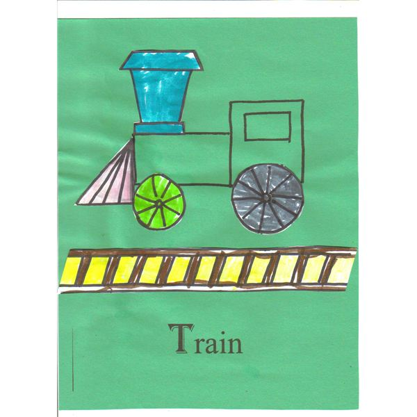 Three Preschool Train Crafts: Transportation Crafts for the Classroom